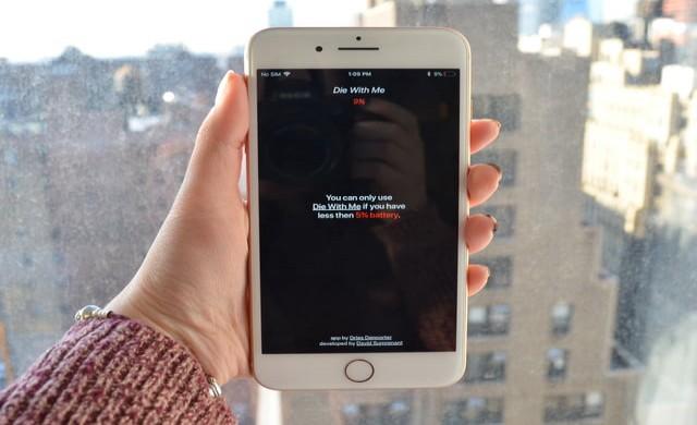 Die With Me е свежо мобилно приложение за хората без батерия