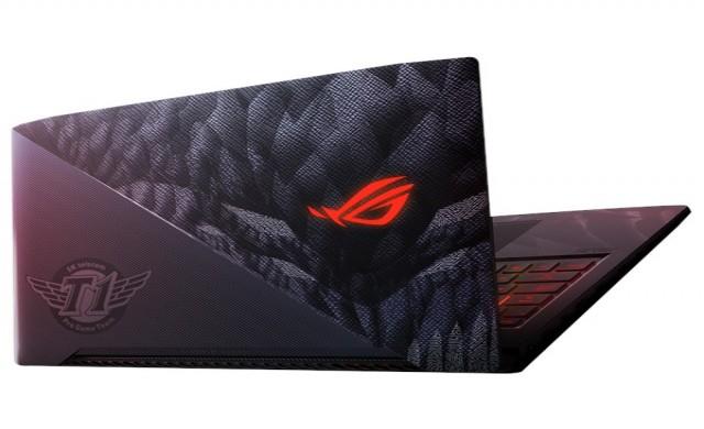 ASUS пуска специален модел ROG Strix лаптоп - SKT T1 Hero Edition