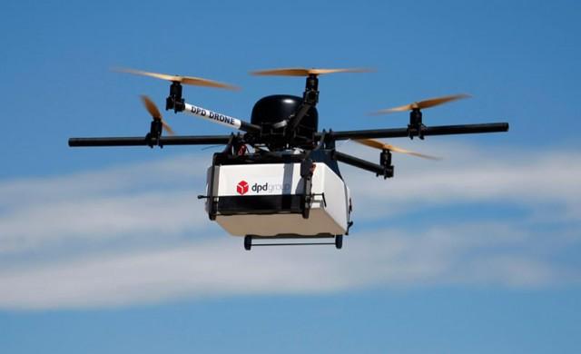 Google тества дронове за доставка на храна