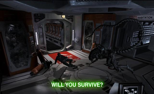 Нова мобилна игра от поредицата Alien - Alien: Blackout