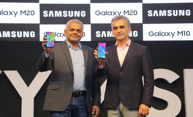 Samsung представи Galaxy M10 и Galaxy M20