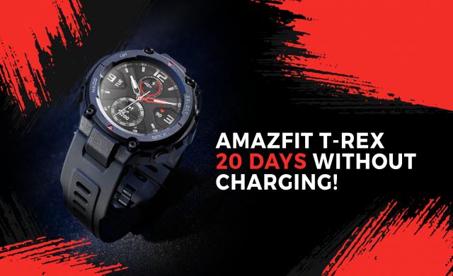 Неубиваемият смарт часовник Amazfit T-Rex