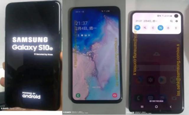 Ето как ще изглежда Samsung Galaxy S10 E