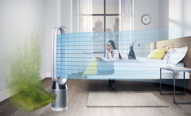 Dyson предлагат интелигентен пречиствател на въздуха