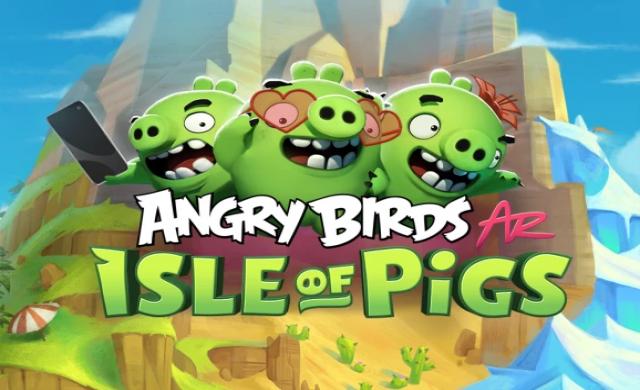Задава се версия на Angry Birds с технология за добавена реалност