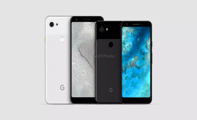Google Pixel 3a може да се предлага и в лилаво