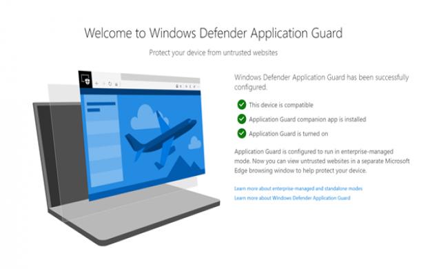 Microsoft пуска Windows Defender добавка за Chrome и Firefox