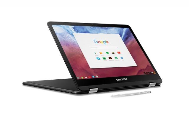 Samsung добавя клавиатура с подсветка към Chromebook Pro