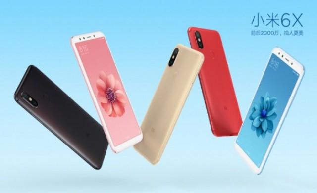 5 цвята Xiaomi Mi 6X