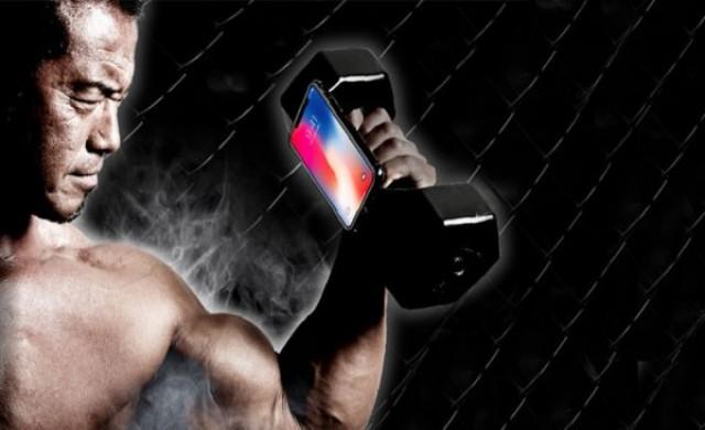Създадоха 10-килограмов калъф за iPhone X