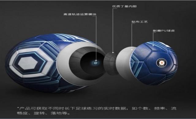 Футболната топка на Xiaomi се синхронизира с телефона ви