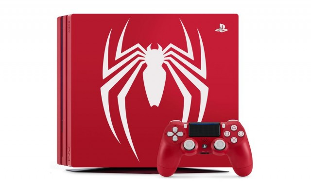 Sony пуска лимитирана версия на PS4 Pro със Spider-Man дизайн
