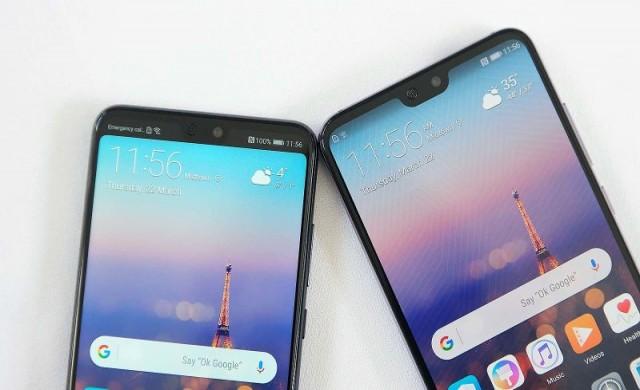 Huawei разработват още по-сериозен дисплей без черен кант
