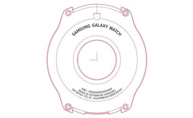 Ясен е размерът на екрана на Galaxy Watch