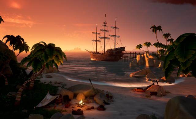 Новият DLC пакет за Sea of Thieves ще е наличен от 31 юли