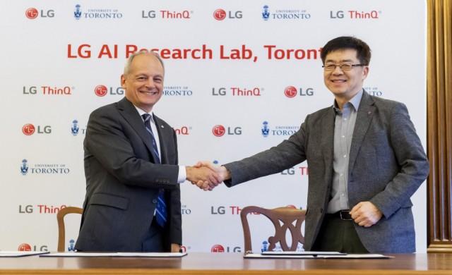LG подготвя AI развоен център в Торонто