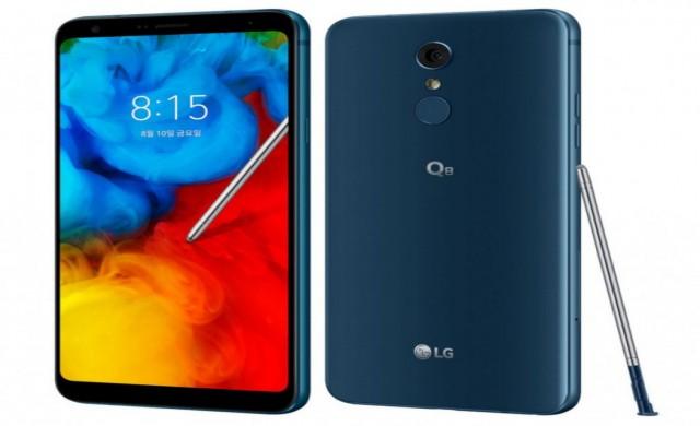 Представиха LG Q8 (2018) с безрамков дизайн и стилус