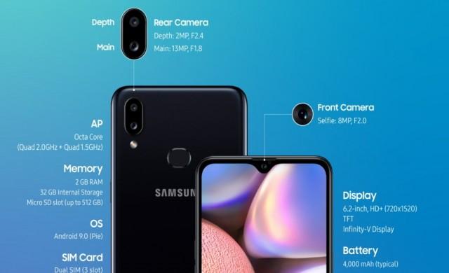 Какво предлага бюджетният Samsung Galaxy A10s