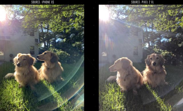 Камерата на Pixel 2 XL не успя да победи тази в iPhone XS