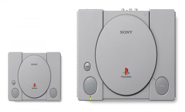 Sony представи мини конзолата PlayStation Classic