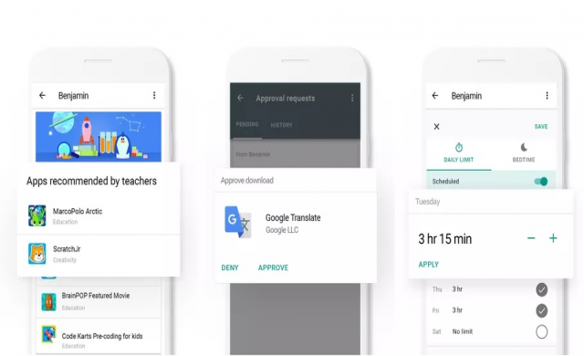 Google разширява функциите на Family Link