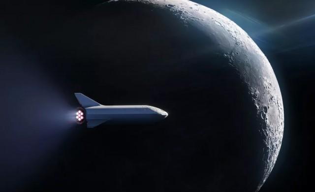 SpaceX изпраща човек на пътешествие около Луната