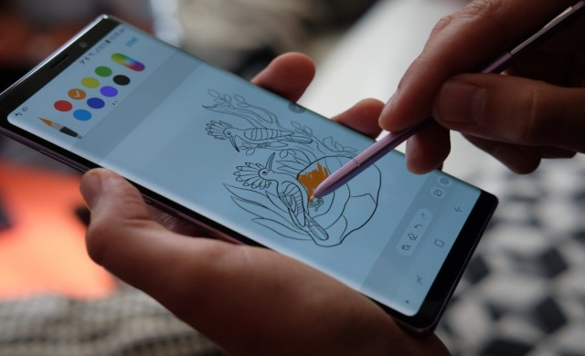 Samsung Galaxy Note 9 се взриви