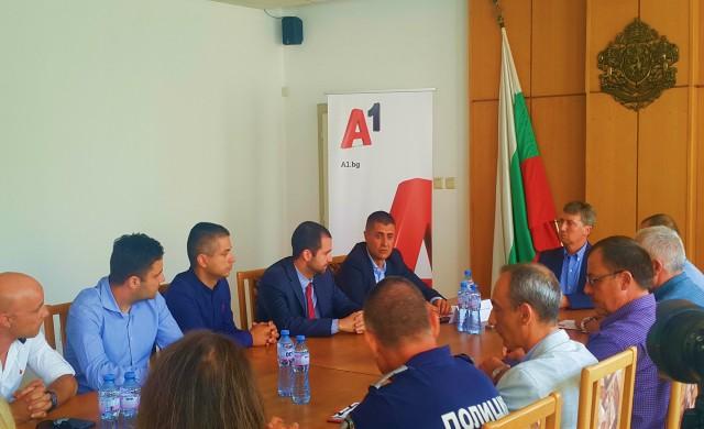 А1 изгради система за аналитично видеонаблюдение в Община Раднево