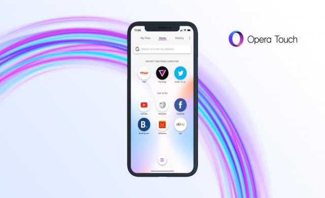Opera Touch вече и за iPhone XS и iPhone XS Max