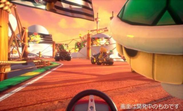 Mario Kart ще се превърне в цяла виртуална реалност