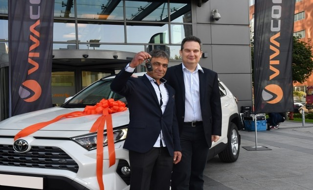 Ангел Стоименов от град Кричим спечели автомобил от VIVACOM
