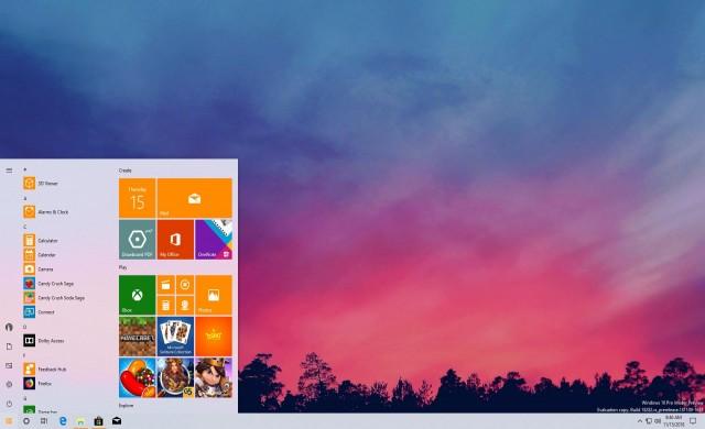 Microsoft пуска нова светла тема за Windows 10 19H1