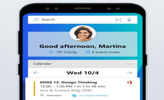 Microsoft Launcher с над 10 милиона изтегляния от Google Play