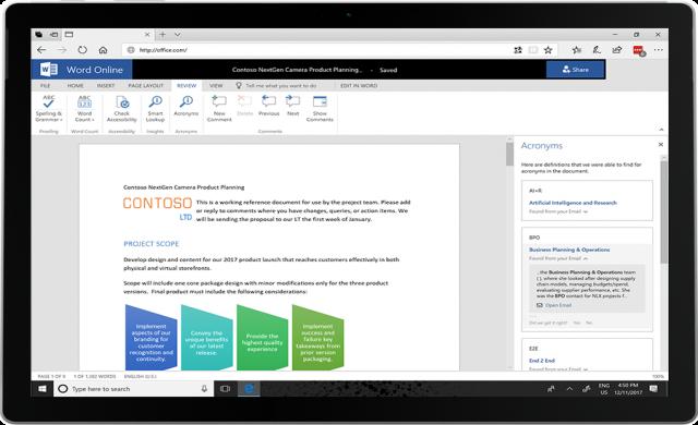 Microsoft добавя още AI функционалности към Office 365
