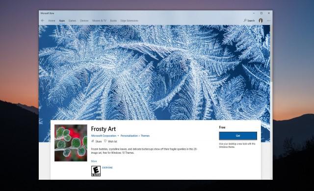 Четири нови теми от Microsoft за Windows 10