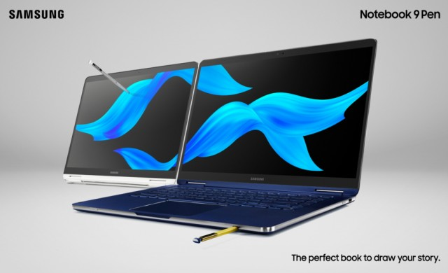 "Samsung пуска 15"" вариант на Notebook 9 Pen"