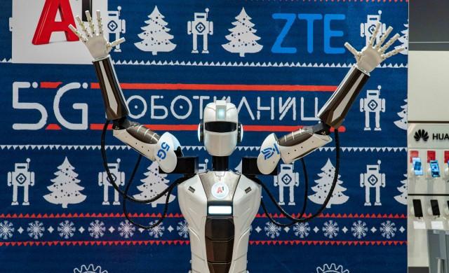 А1 демонстрира роботизация през първата в страната 5G самостоятелна (standalone) мрежа