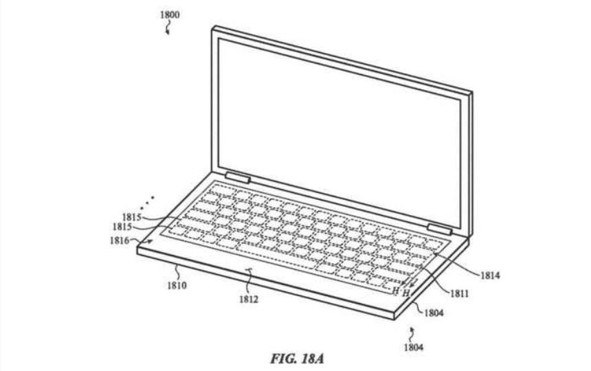 Новият MacBook ще е със стъклена клавитаура