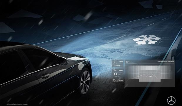 Mercedes пуска пилотна серия автомобили с футуристични фарове