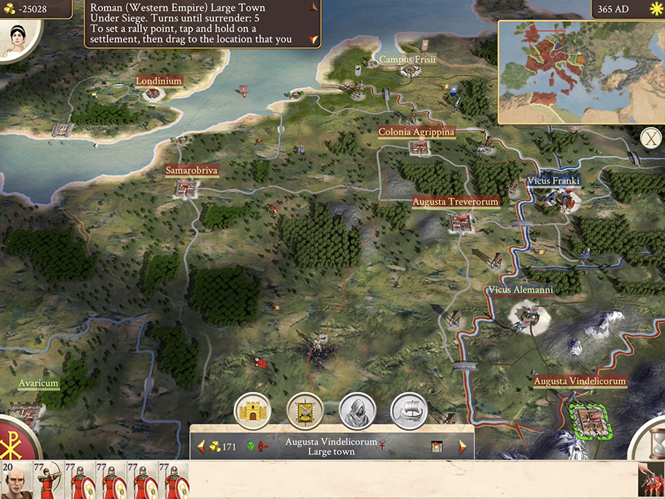 ROME: Total War – Barbarian Invasion скоро за iOS и Android