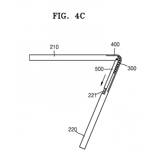 Samsung патентова смартфон, който се сгъва навън