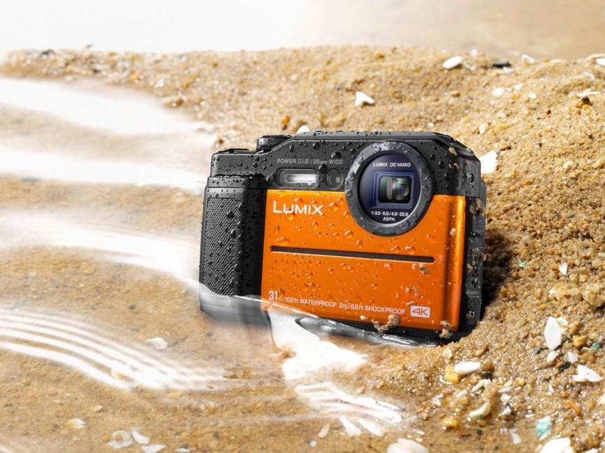 Защитената камера Panasonic Lumix TS7 снима 4K видео