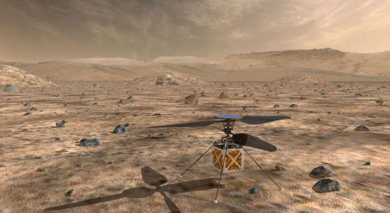 NASA изпраща хеликоптер до 2020 година на Марс