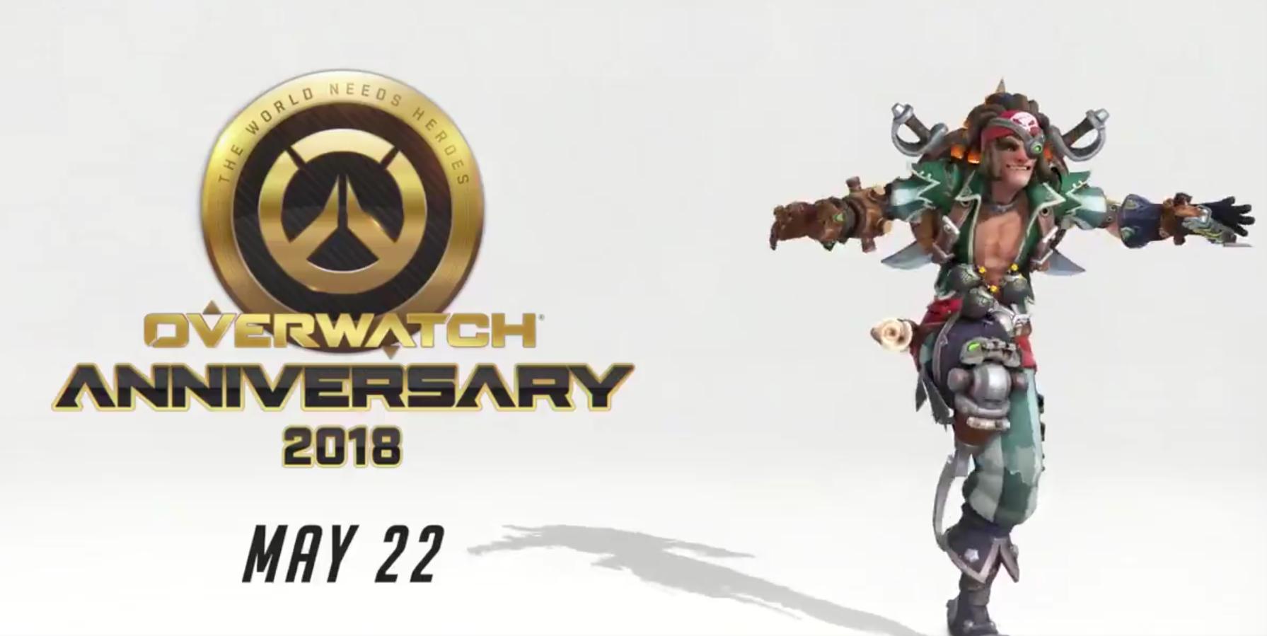 Гответе се за празнично събитие за годишнината на Overwatch