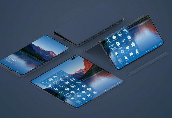 Microsoft разработва смартфон с 3 гъвкави екрана