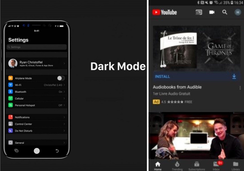 Топ 5 на приложенията за iOS 13, които ще получат тъмна тема