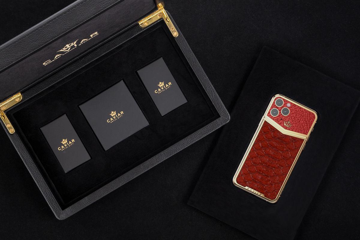 Caviar представи луксозна серия iPhone 11 Pro
