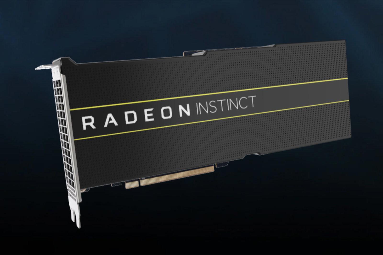 AMD представи първите си 7nm графични процесори