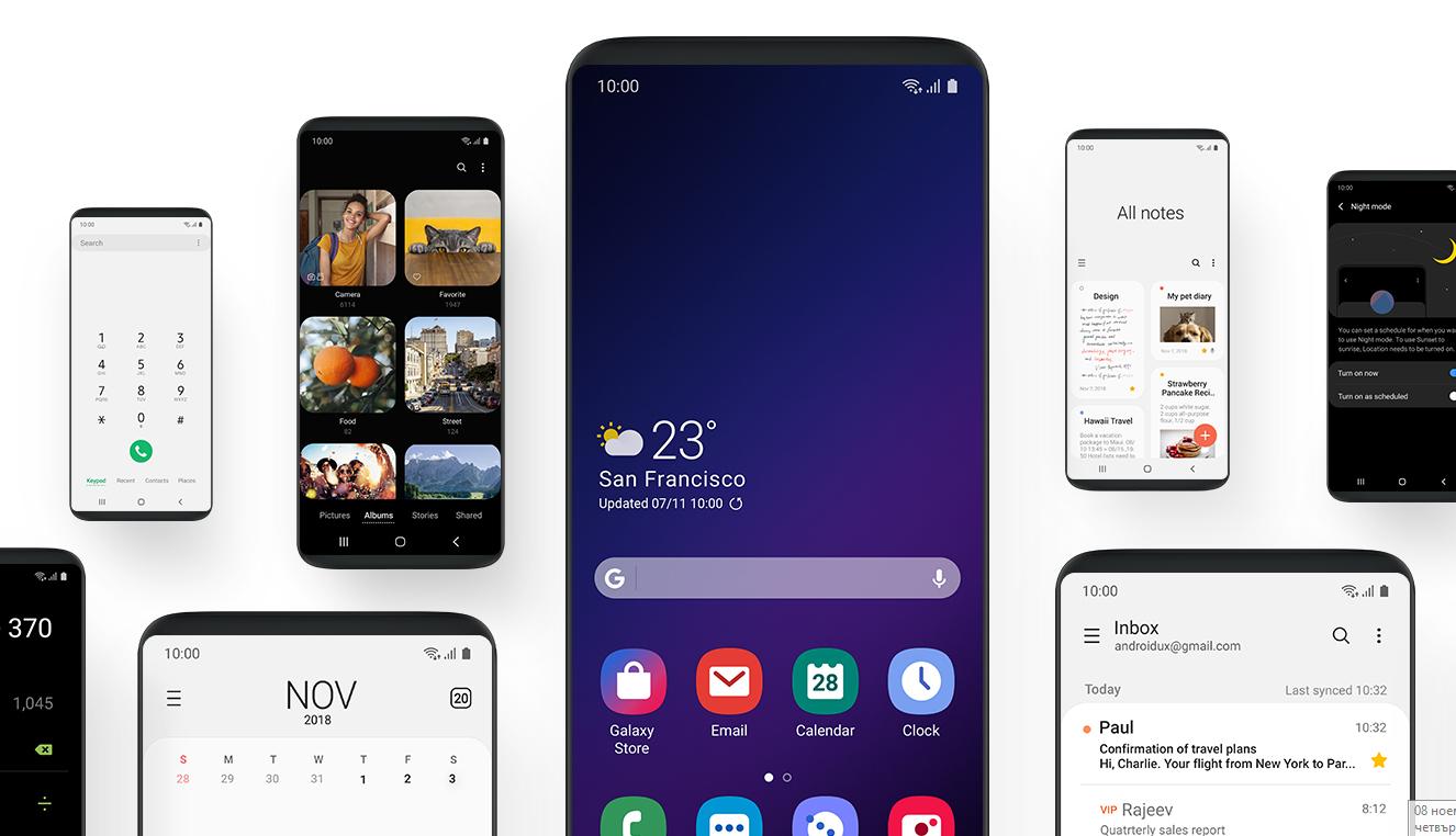 Android 9 Pie за Galaxy S9, S9+ и Note9 през януари?
